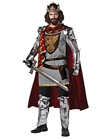 King Arthur Adult Mens Costume