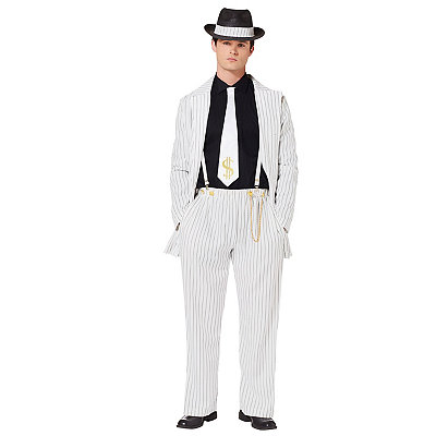 1940s Style Mens Clothing Adult Riot Zoot Suit Costume $59.99 AT vintagedancer.com