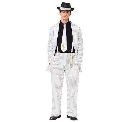 Classic 1940s Men's Suits, Zoot Suits Adult Riot Zoot Suit Costume $59.99 AT vintagedancer.com