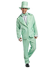 Green Tuxedo Adult Mens Costume