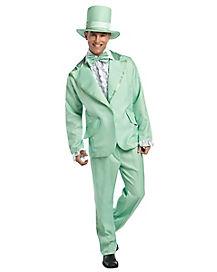 Green Tuxedo Adult Mens Costume