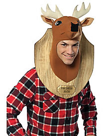 Oh Deer Trophy Head Adult Men's Costume