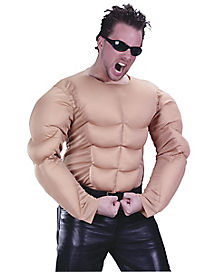 Muscle Shirt Light Adult Men's Costume