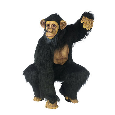 Chimpanzee Complete Adult Costume