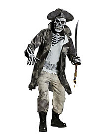 Ghost Pirate Adult Mens Costume