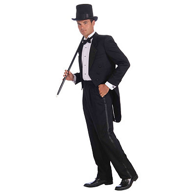 1930s Men's Costumes Adult Vintage Hollywood Tuxedo Costume $49.99 AT vintagedancer.com