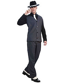 Gangster Set Adult Mens Costume