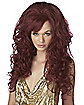 Burgundy Bombshell Adult Wig