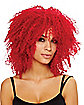 Coolness Red Adult's Wig