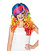 Rainbow Rocker Adult's Wig