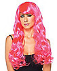 Pink Star Bright Adult Wig
