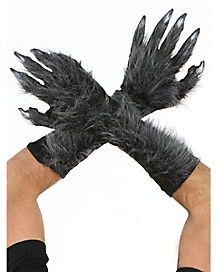 Gray Killer Wolf Gloves