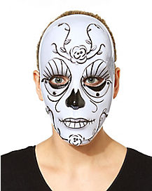 Dark Rose Day of the Dead Mask