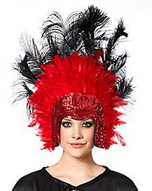Vegas Showgirl Headpiece
