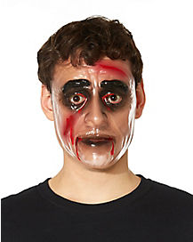 Transparent Zombie Male Mask