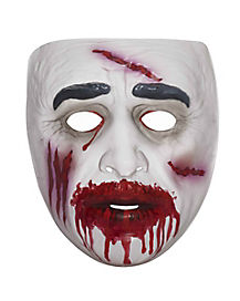 Transparent Bloody Zombie Mask