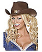 Brown Wild West Cowboy Hat