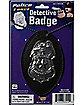 Jumbo Detective Badge on Chain