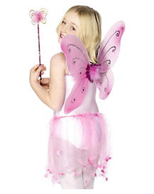 Child's Pink Butterfly Kit