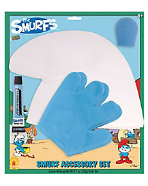 Kids Smurfs Costume Kit