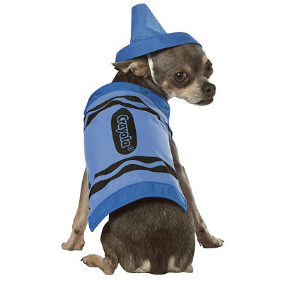 Crayola Crayon Blue Dog Costume