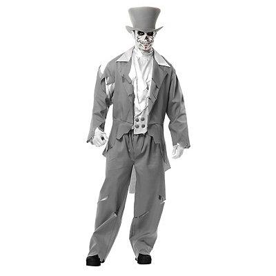 Ghost Groom Adult Mens Costume $59.99 AT vintagedancer.com