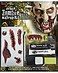 Zombie Makeup Kit with Teeth - Deluxe