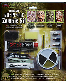 Family-Size All-in-One Zombie Kit