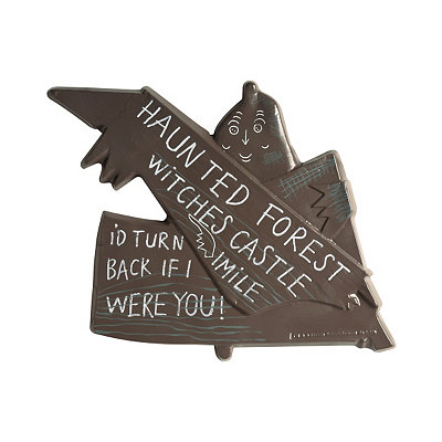 Wizard of Oz Wicked Witch Wall Sign