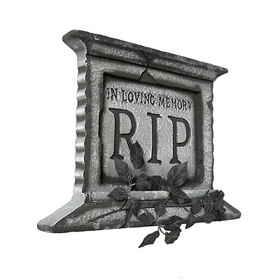 1.5 Ft Light Up Spooky Tombstone - Decorations