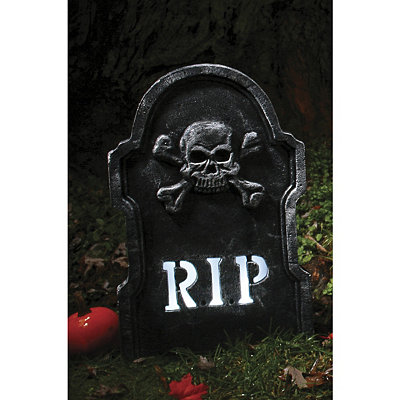 22-inch LED Bone RIP Tombstone