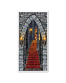 Castle Entrance Door Cover - Decorations