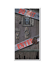 Spooky Entrance Door Cover - Decorations