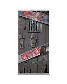 Spooky Entrance Door Cover - Decorations