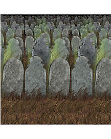 Graveyard Backdrop - Decorations