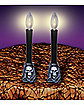 Lightup Skull Candlesticks