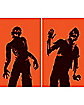 WOWindows Posters Zombies Silhouettes