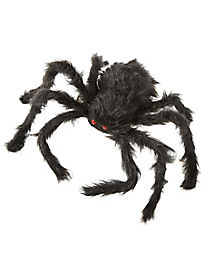 20 in Black Hairy Spider -  Decorations