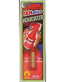 Red Fanatics Makeup