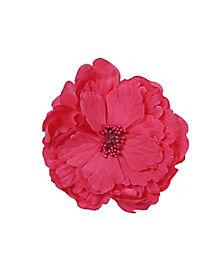 Large Pink Flower Hair Clip