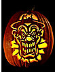 Ha Ha Ha Pumpkin Carving Tattoo