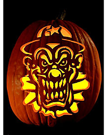 Pumpkin Carving Tattoo Ha Ha Ha
