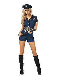 Naughty Sheriff Adult Womens Cop Costume
