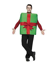 Adult  Gift Box Costume