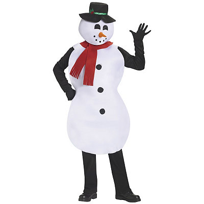 Jolly Snowman Adult Costume