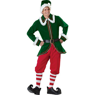Santa's Elf Adult Costume