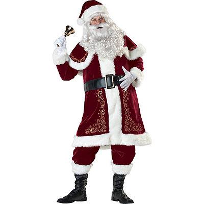 Jolly Ol St Nick Adult Mens Costume $159.99 AT vintagedancer.com