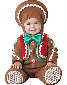Sweet Gingerbread Baby Costume