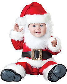 Baby Santa Baby One Piece Costume