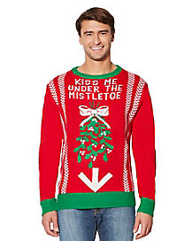 Adult Under the Mistletoe Ugly Christmas Sweater